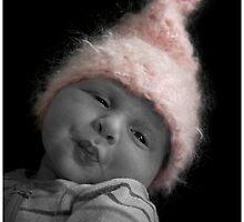 Newborn kiss by ruitje