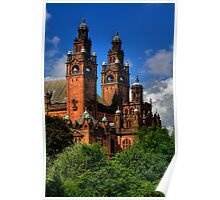 Sandstone Towers Poster
