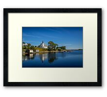 Indian Point Framed Print