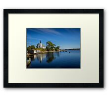 Indian Point on Mahone Bay, Nova Scotia, Canada Framed Print