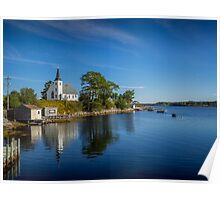 Indian Point on Mahone Bay, Nova Scotia, Canada Poster