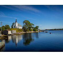 Indian Point on Mahone Bay, Nova Scotia, Canada Photographic Print