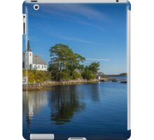 Indian Point on Mahone Bay, Nova Scotia, Canada iPad Case/Skin