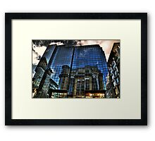 Reflections of Glasgow (5) Framed Print