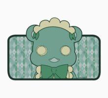 Monochrome Lily Bear Lulu One Piece - Short Sleeve
