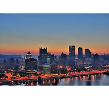 Pittsburgh Revisited III HDR Photographic Print