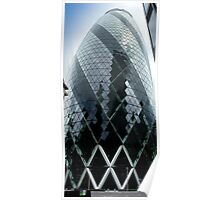 The Gherkin - No.30 St Mary Axe London Poster