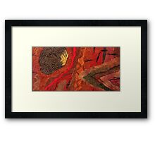 Geology Framed Print