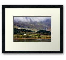 Loch Slapin Framed Print