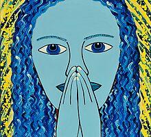 PRAYING LADY by JaneAParis