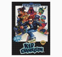 Kid Chameleon Genesis Megadrive Sega Box cover Kids Clothes