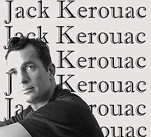 Jack Kerouac Portrait by beatnikbaby