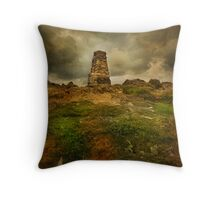 The Cairn on Loughrigg Fell Throw Pillow