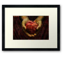 Thou shalt be mine! Framed Print