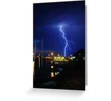 Thunderstorm Greeting Card