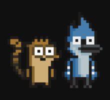 """Rigby """"Regular Show"""" Pixel Art Kids Clothes"""
