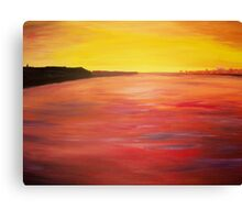 Sunset by Monika Howarth Canvas Print
