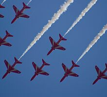 The red arrows by lurch