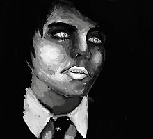 Gerard way painting by XXVenganzaXX