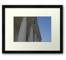 The Pillar Framed Print