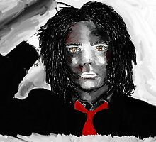 Gerard way painting 2 by XXVenganzaXX