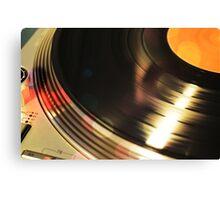 Vinyl 2 Canvas Print