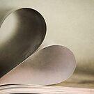 Book heart by Cristina Rossi