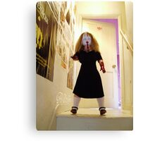 ALISSS - ALICE Of The Living DEAD! Canvas Print