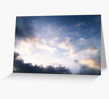 Dark Clouds Greeting Card