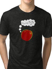 Apple Discovers Gravitation Tri-blend T-Shirt