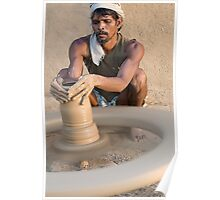Earthen Pottery#1 Poster