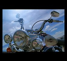 """""""Wash Day for the Harley"""" by Don Bailey"""