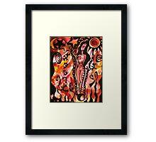 Art Slave Framed Print