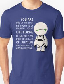 Marvin intelligence Unisex T-Shirt