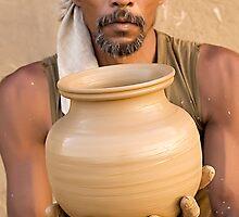 Earthen Pottery#6 by Mukesh Srivastava