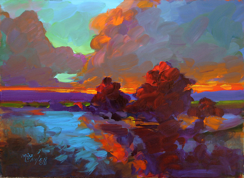 """""""Tequila Sunrise"""" by Mike Savlen"""