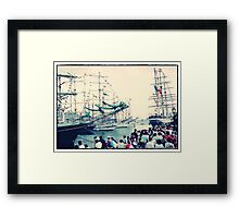 Regatta Puerto Rico : 1992(Celebrating 500 years of the historical event) Framed Print