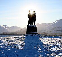 The Commando Memorial by mykanmo