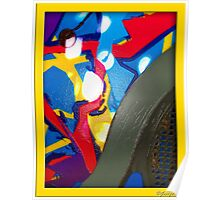 Outdoor Abstract Artwork Poster