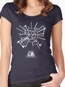 Space 1999: Moonbase Alpha Women's Fitted Scoop T-Shirt