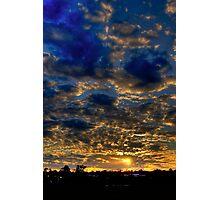 Warwick Sunset Photographic Print