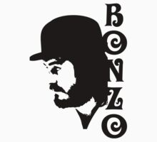 SOLID BLACK BONZO T-Shirt