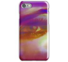 Up Close and Personal Female Portrait Art iPhone Case/Skin