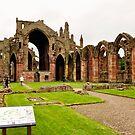 Melrose abbey #2 by Finbarr Reilly