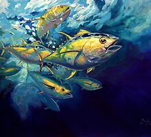 Yellow Fins by Mike Savlen