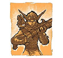 Daxter and Jak Photographic Print
