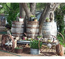 Country Wagon Photographic Print