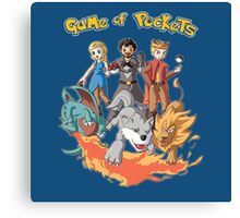 game of pockets Canvas Print