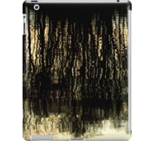 Sunset Tree Reflections Abstract Light Patterns iPad Case/Skin