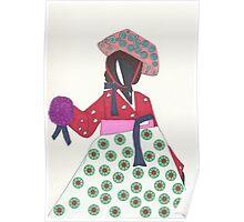 Korean Woman Poster